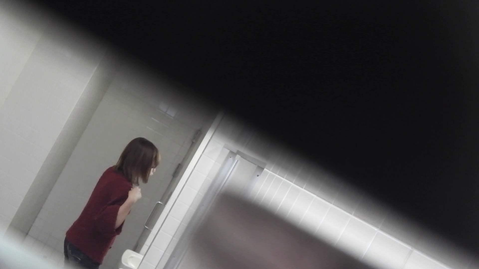 お銀さんの「洗面所突入レポート!!」Nol.10 洗面所 おまんこ無修正動画無料 90枚 20