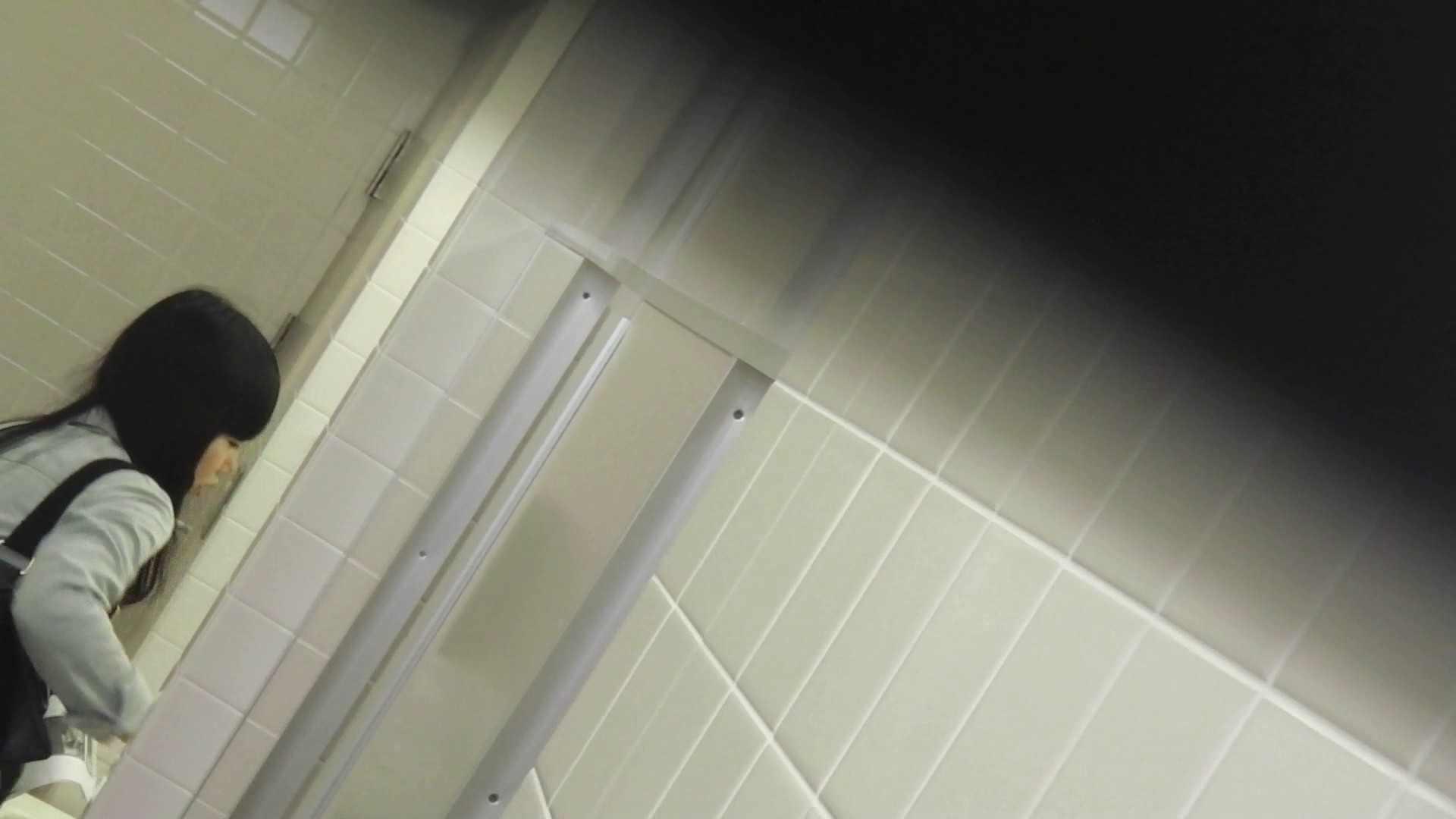 お銀さんの「洗面所突入レポート!!」Nol.10 タレント並みの美人  90枚 84