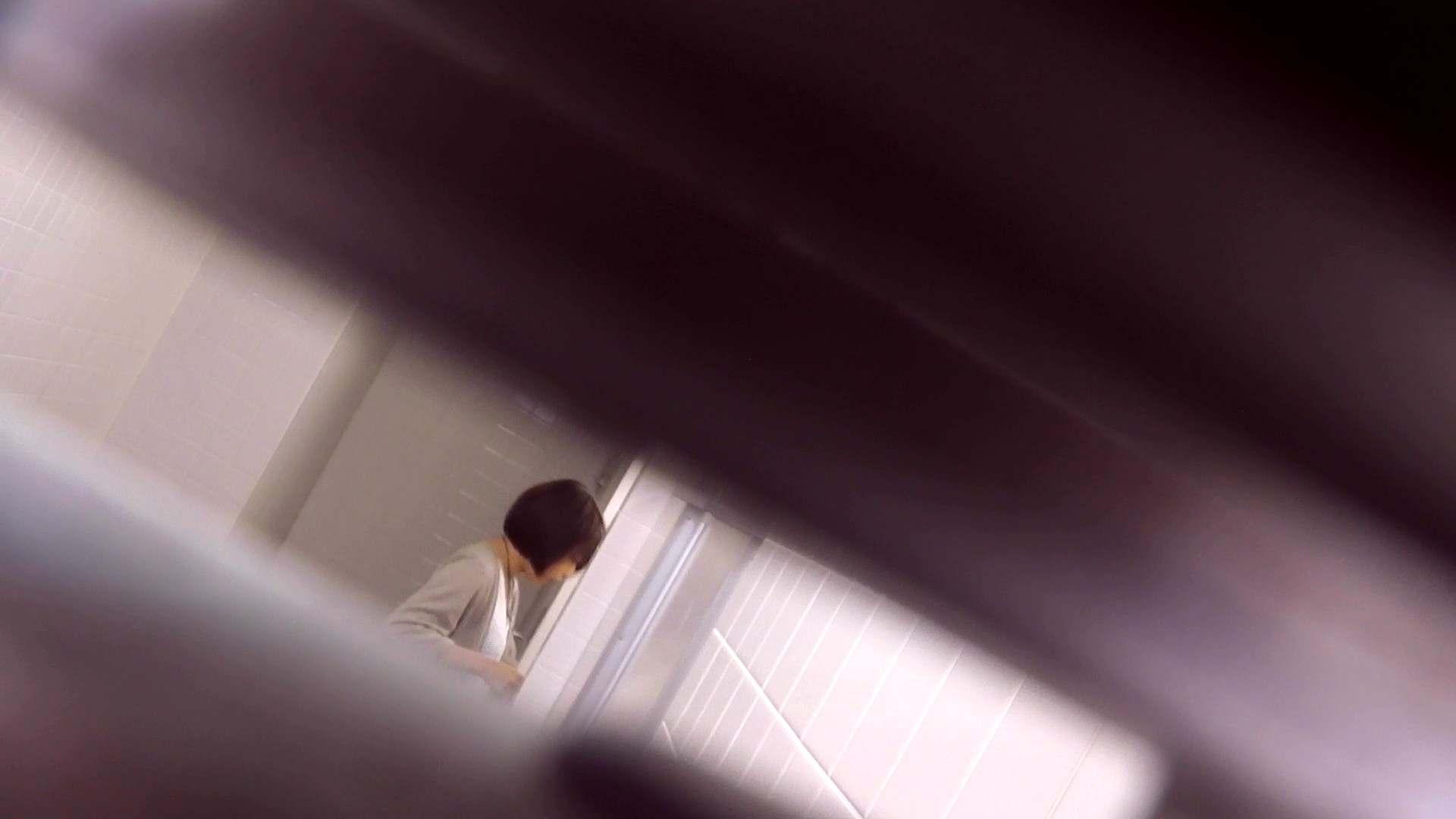 お銀さんの「洗面所突入レポート!!」Nol.18 エッチなOL  92枚 36