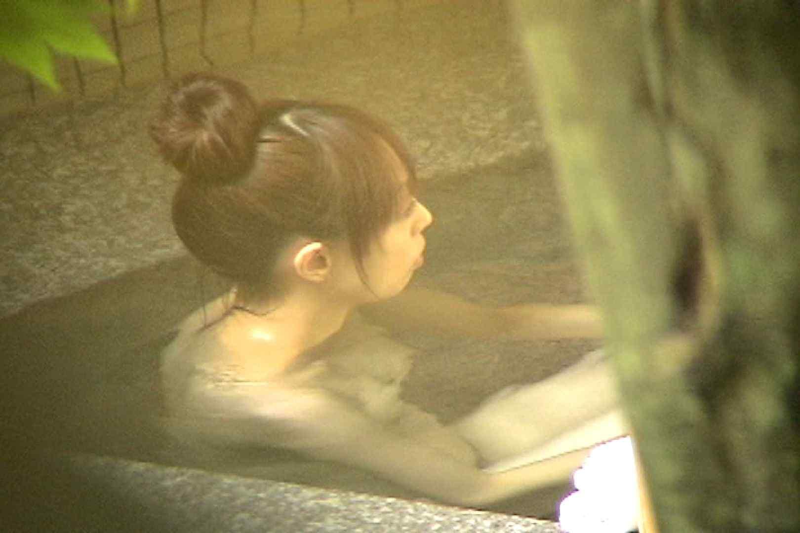 No.16 細身妊婦の膨らんだお腹とオッパイ 露天入浴 オマンコ無修正動画無料 91枚 43